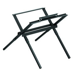 DeWALT® DW7451 Table Saw Stand, For Use With DeWALT® DWE7480, 60 V DCS7485, DW745 Compact Table Saw and DW7480 Compact Job Site Table Saw, Steel, Black