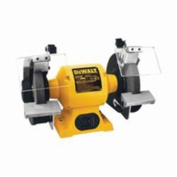 DeWALT® DW756 Heavy Duty Bench Grinder, 6 in Dia x 3/4 in W Wheel, 1/2 in, 3450 rpm, 5/8 hp