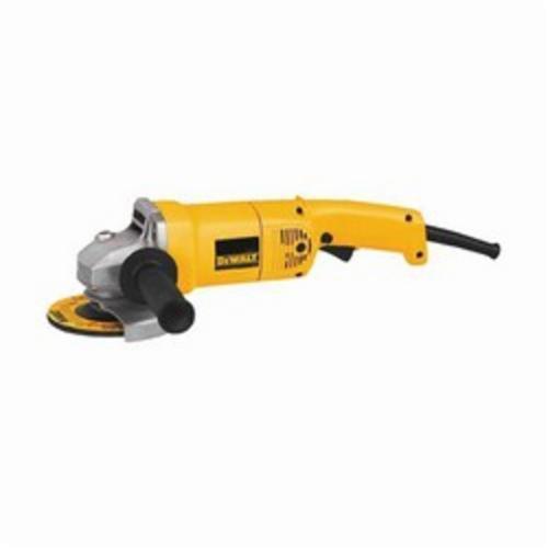 DeWALT® DW831 Heavy Duty Medium Angle Grinder, 5 in Wheel, 5/8-11, 2-1/2 hp, 120 VAC, Yellow, Tool Only