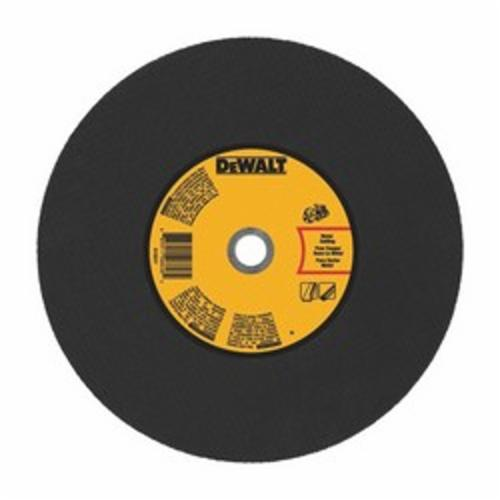 DeWALT® DWA8030 High Speed Cut-Off Wheel, 14 in Dia x 1/8 in THK, 1 in Center Hole, 24 Grit, Aluminum Oxide Abrasive