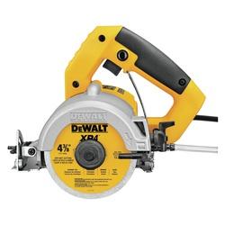 DeWALT® DWC860W Handheld Wet/Dry Tile Cutter, 4-3/8 in Dia Blade, 3-1/8 in Cutting