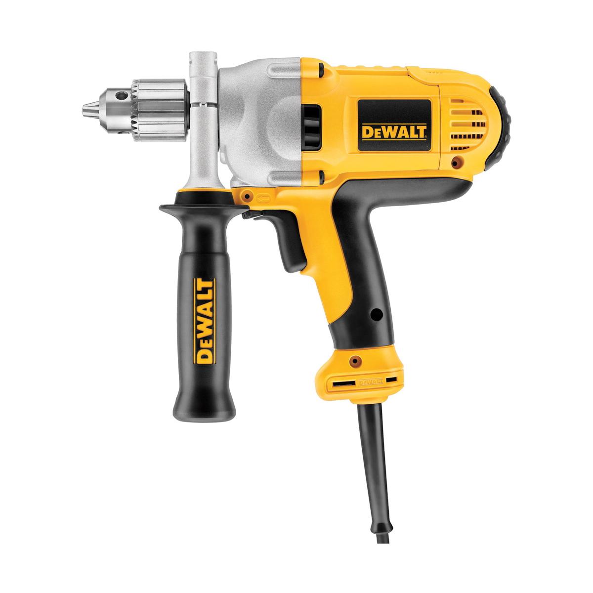 DeWALT® DWD216G Electric Hammer Drill, 1/2 in Keyed Chuck, 120 VAC