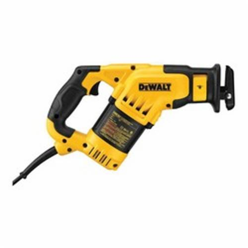 DeWALT® DWE357 Compact Corded Reciprocating Saw Kit, 1-1/8 in L, 0 to 3000 spm, 14-1/2 in OAL