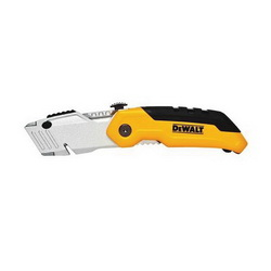 DeWALT® DWHT10035L Folding Utility Knife, 2-1/2 in L Blade, Retractable Stainless Steel Blade