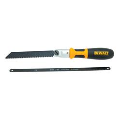 DeWALT® DWHT20542 Multi-Purpose Hand Saw, 6 in, 10 in L Steel Blade, Plastic/Rubber Handle