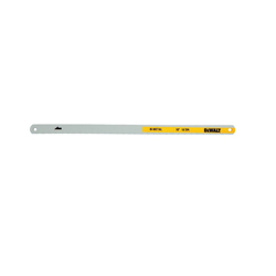 DeWALT® DWHT20548 Hacksaw Blade, 1/2 in W x 10 in L Blade, HSS Cutting Edge, Bi-Metal/Carbon Steel Blade, 18 TPI