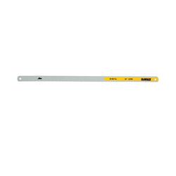 DeWALT® DWHT20553 Hacksaw Blade, 1/2 in W x 12 in L Blade, HSS Cutting Edge, Bi-Metal/Carbon Steel Blade, 32 TPI