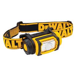 DeWALT® DWHT70440 Jobsite Headlamp, LED Bulb, ABS Housing, 104 Lumens