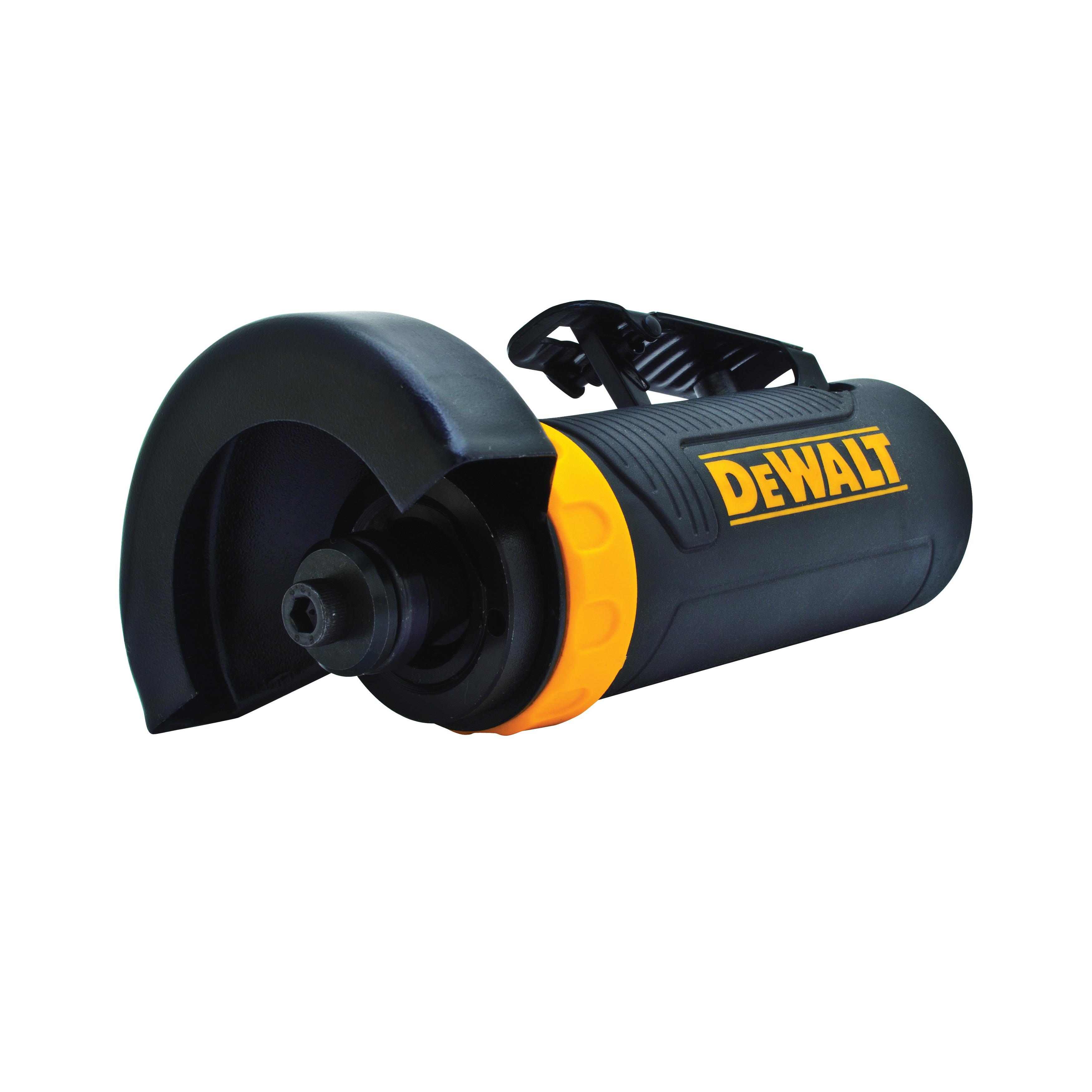 DeWALT® DWMT70784 Pneumatic Cut-Off Tool, 3 in Dia Wheel, 19000 rpm Speed, 4.4 cfm Air Flow, 90 psi, Tool Only