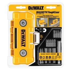 DeWALT® Impact Ready® DWMTC15 Magnetic Tool Case Set, 15 Pieces, Resin