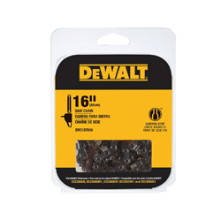 DeWALT® DWO1DT616 Replacement Saw Chain, 16 in L, 0.043 in, 3/8 in Pitch, Hard Chrome
