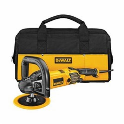 DeWALT® DWP849X Spindle Lock Variable Speed Polisher With Soft Start, 7 in, 9 in Dia Pad, Tool Only
