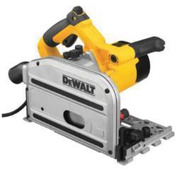 DeWALT® DWS520K Heavy Duty Track Saw Kit, 6-1/2 in Blade, 1750 to 4000 rpm Speed, 1.7 hp, 120 VAC, 12 A