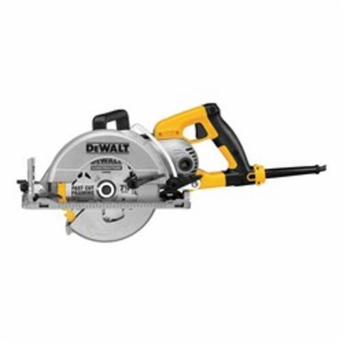 DeWALT® DWS535 Worm Drive Circular Saw, 7-1/4 in Dia Blade, 4800 rpm Speed, 12 VDC, 15 A