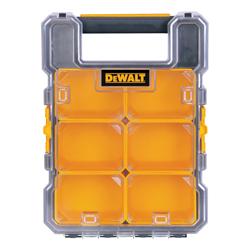 DeWALT® DWST14740 Professional Water Resistant Tool Organizer, 4-5/14 in H x 10-3/14 in W, Polycarbonate, Black/Yellow