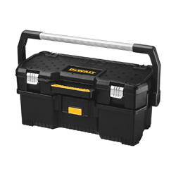 DeWALT® DWST24070 Lockable Tool Tote With Removable Power Tool Case, Resin/Structural Foam