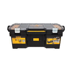 DeWALT® DWST24075 Lockable Tool Box With Removable Organizer Case, 9-7/8 in H x 24 in W, Resin