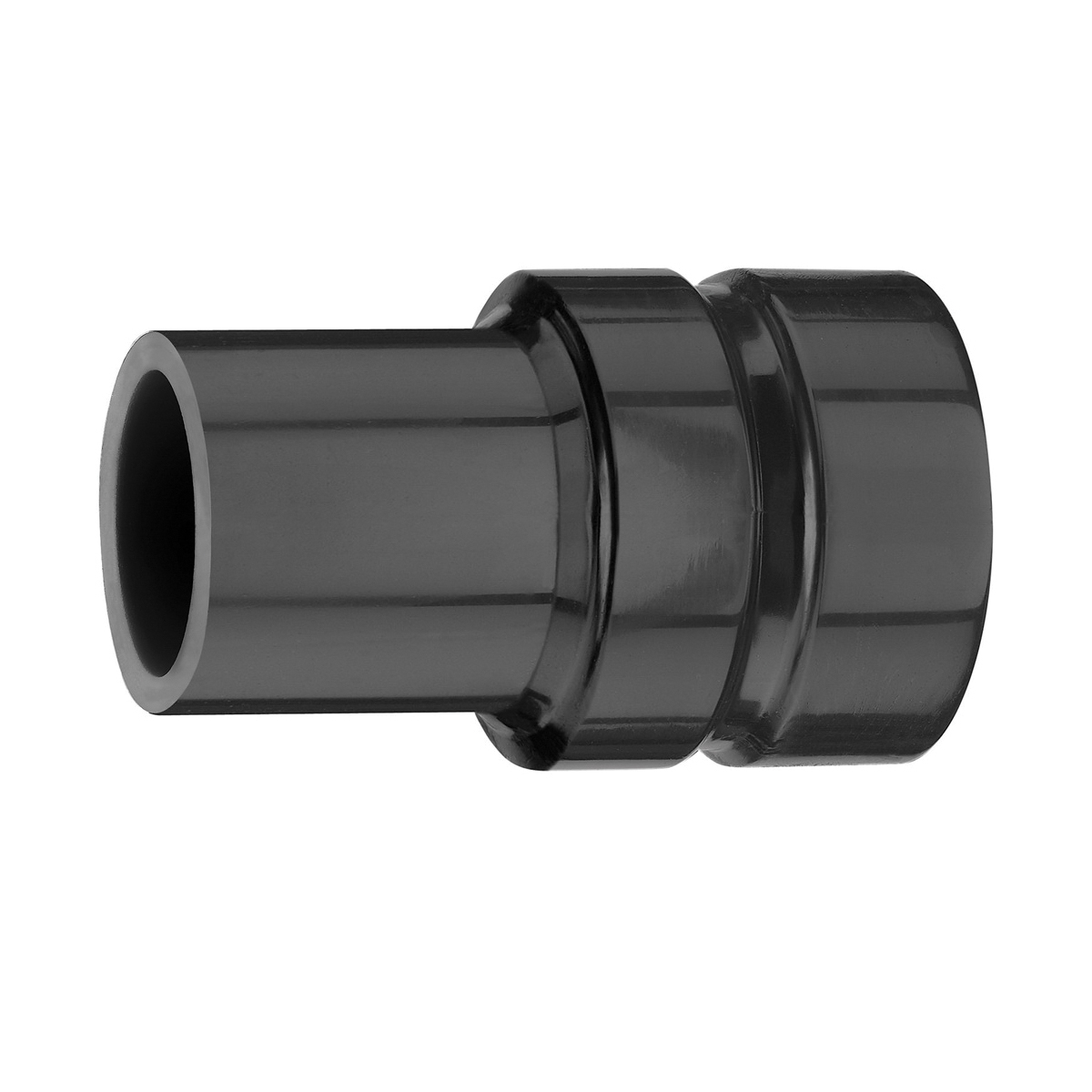 DeWALT® DWV9170 Vacuum Adapter, 1-1/4 in, 8.2 in L, For Use With DWV9000 Universal Connector and DeWALT® Dust Extractor, Black