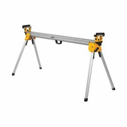 DeWALT® DWX723 Heavy Duty Miter Saw Stand, For Use With DeWALT® Miter Saw, 32 in H x 150 in W Extended, 6 in H x 72 in W Folded