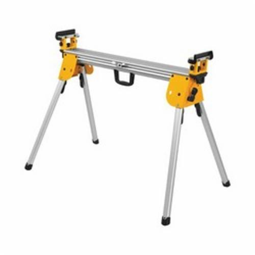 DeWALT® DWX724 Heavy Duty Miter Saw Stand, For Use With DeWALT® Miter Saw, 5 in W Work Surface, 500 lb, 100 in W x 32 in H Extended, 44 in W x 8 in H Folded