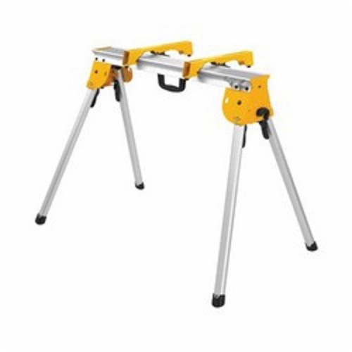 DeWALT® DWX725B Heavy Duty Work Stand, For Use With DeWALT® Miter Saw, 5 in W Work Surface, 1000 lb, 36 in W x 32 in H Extended, 36 in W x 7 in H Folded
