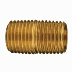 Dixon® 1650202C Close Pipe Nipple, 46395, MNPT, 125 lb, Brass, Domestic