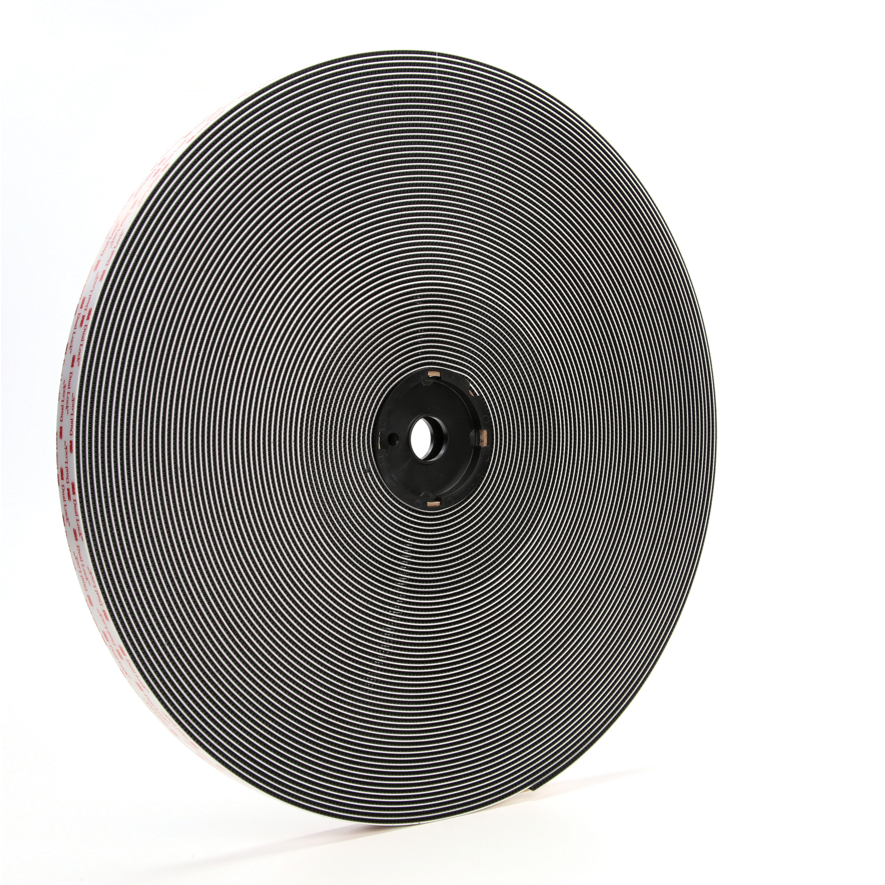 3M™ Dual Lock™ 021200-86278 General Purpose Mushroom Shaped Reclosable Hook and Loop Fastener Tape, 50 yd L x 1 in W, 0.23 in THK Engaged, Acrylic Adhesive, Polypropylene Backing, Black