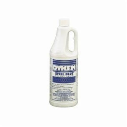 Dykem® STEEL BLUE® 80600 Layout Fluid, 930 mL Bottle, Sweet/Solvent, Liquid, Steel Blue
