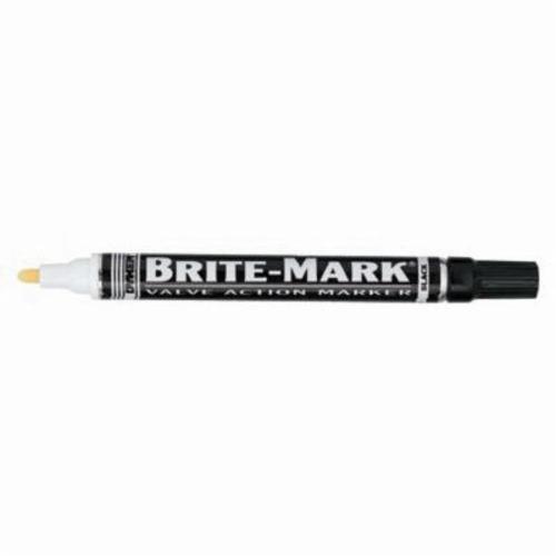 Dykem® BRITE-MARK® 84002 General Purpose Permanent Paint Marker, Medium Tip, Aluminum, Black