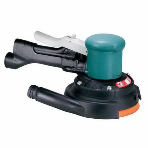 Dynabrade® 58445 Non-Vacuum Two-Hand Gear Driven Sander, 8 in, 23 scfm Air Flow, 90 psi, 900 rpm Speed Setting