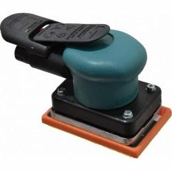 Dynabrade® Dynabug® II 58507 Non-Vacuum Random Orbital Sander, 2-3/4 x 7 in Rectangle Pad, 13 scfm Air Flow, 90 psi