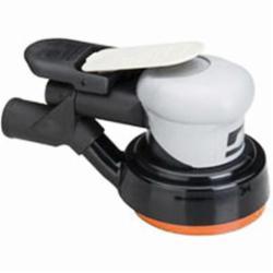 Dynabrade® Dynorbital® Silver Supreme 69024 Central Vacuum Random Orbital Sander, 5 in Round Pad, 16 scfm Air Flow, 90 psi
