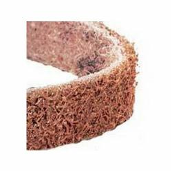 Dynabrade® DynaBrite® 90283 Premium Good Tier Expanding Drum Surface Conditioning Non-Woven Abrasive Belt, 3-1/2 in W x 15-1/2 in L, Coarse Grade, Aluminum Oxide Abrasive, Brown