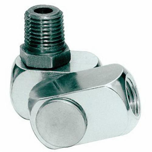Dynabrade® 95460 Air Line Connector, 1/4 in NPT Connection, 25 scfm Flow Rate, Aluminum/Stainless Steel