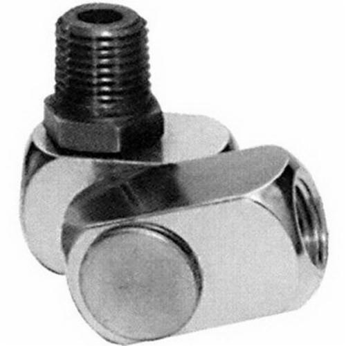 Dynabrade® 95461 Air Line Connector, 3/8 in NPT Connection, 26 to 45 scfm Flow Rate, Aluminum/Stainless Steel