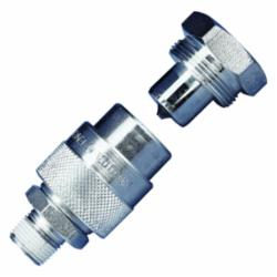 Enerpac® C-604 C Series High Flow Quick-Connect Hydraulic Coupler, 3/8 in Nominal, MNPT, Steel, Import