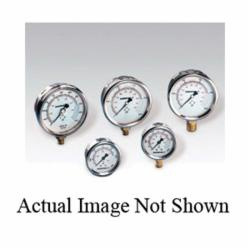 Enerpac® G2535L Hydraulic Pressure Gauge, 0 to 10000 psi, 1/4 in FNPT Connection, 2-1/2 in Dial, +/- 1.5% Full Scale, 200 to 2000 psi Graduations, Glycerin Liquid Filled