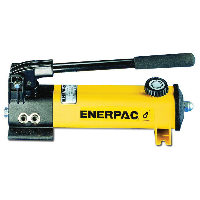 Enerpac® P-141 P-Series 1-Speed 2-Stage Lightweight Hydraulic Hand Pump, 20 cu-in Tank