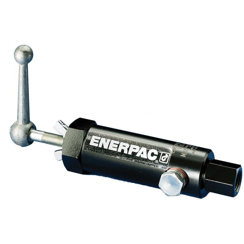 Enerpac® V-152 Pressure Relief Valve, 3/8-18 FNPT Nominal, 10000 psi, Steel Body