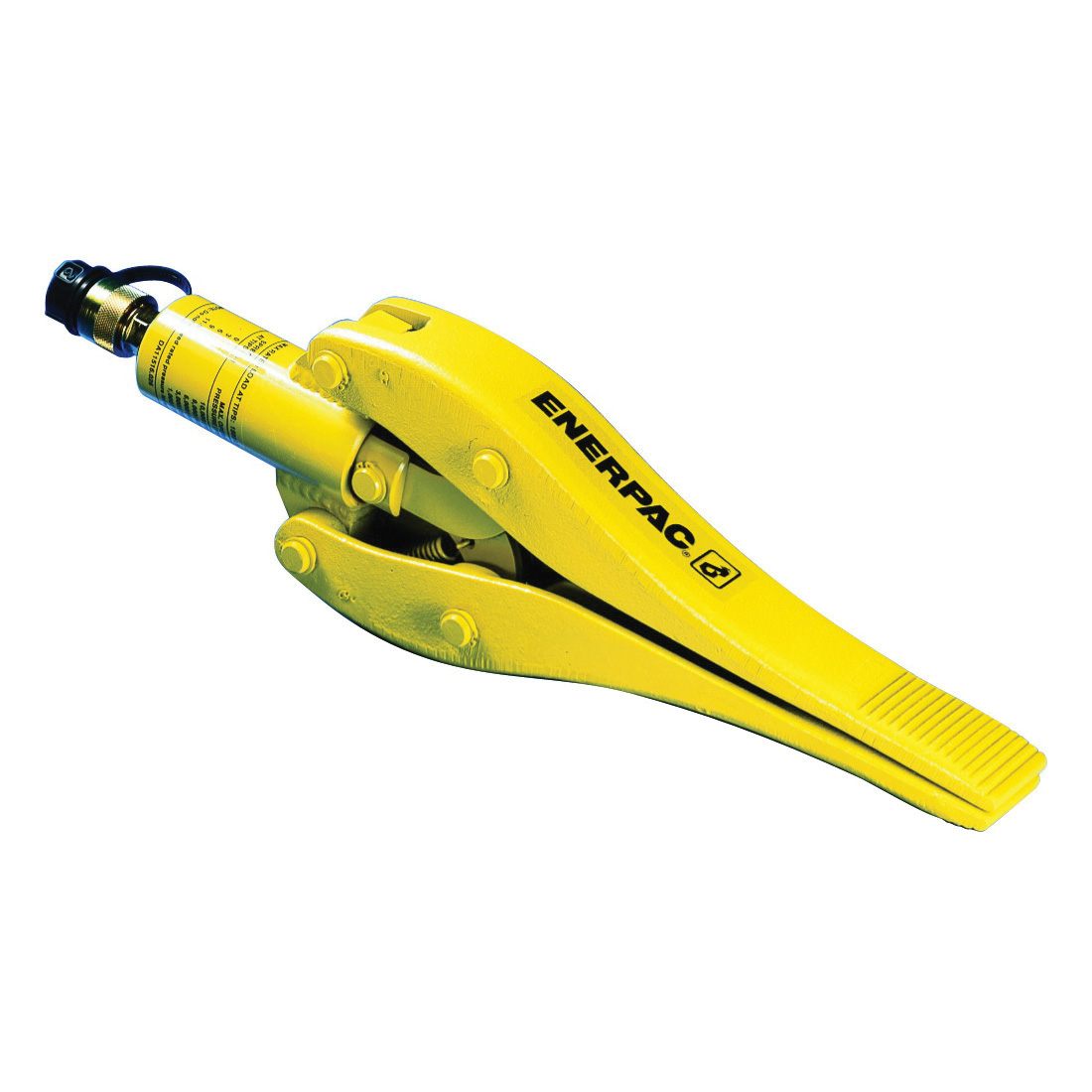 Enerpac® WR-15 WR Series Single Acting Spring Return Hydraulic Wedge and Spread Cylinder, 549 mm L x 157 mm H, 0.75 ton x 292 mm Spreading, Steel Jaw