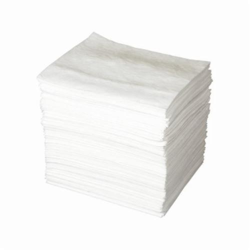 SPC® ENV® MAXX® ENV200 Lightweight Absorbent Pad, 19 in L x 15 in W x 1-Ply THK, 51 gal Absorption Capacity, Meltblown Polypropylene