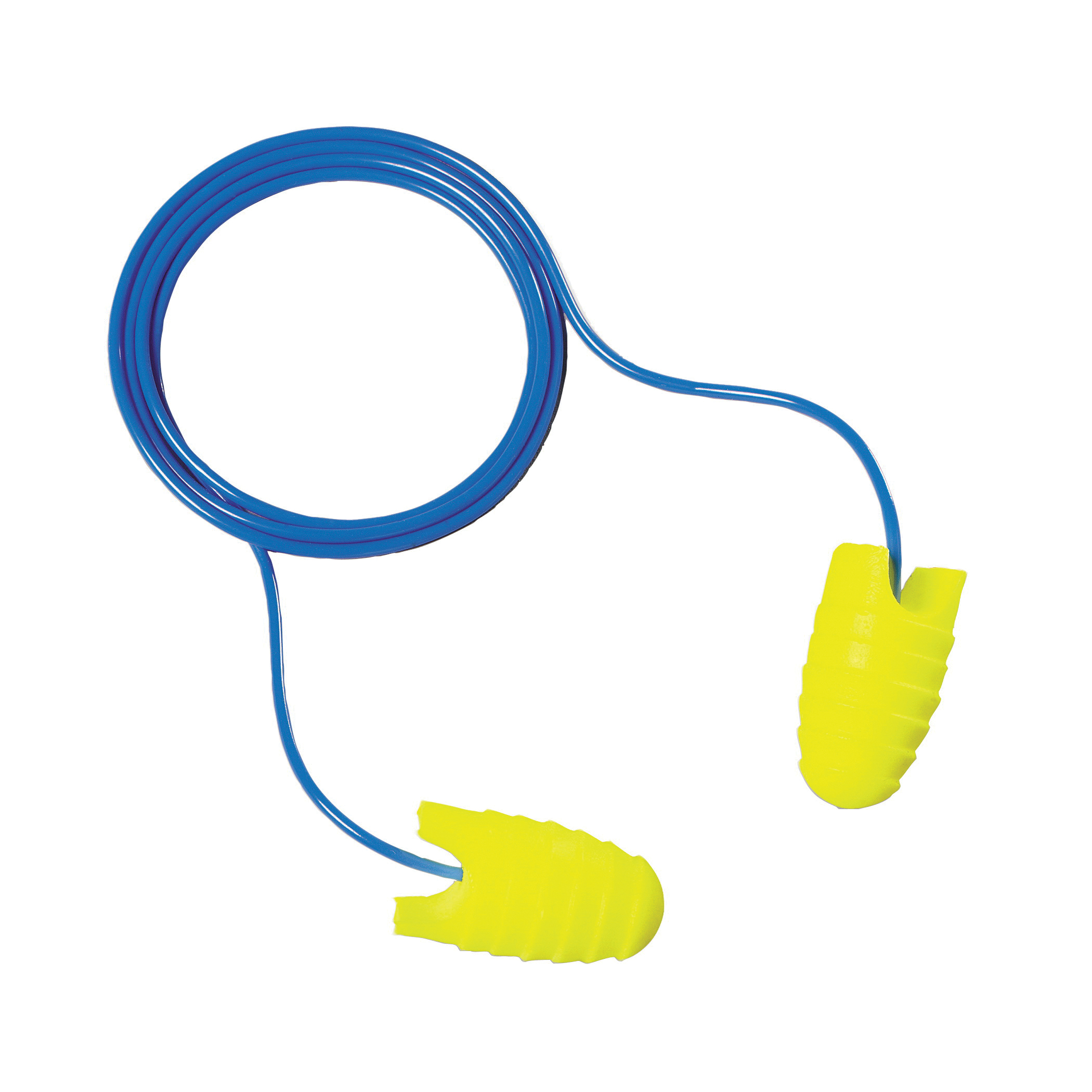 3M™ E-A-R™ 3M™ E-A-Rsoft™ FX™ 080529-12090 Earplugs, 31 dB Noise Reduction, Tapered Shape, CSA Class AL, Disposable, Corded Design