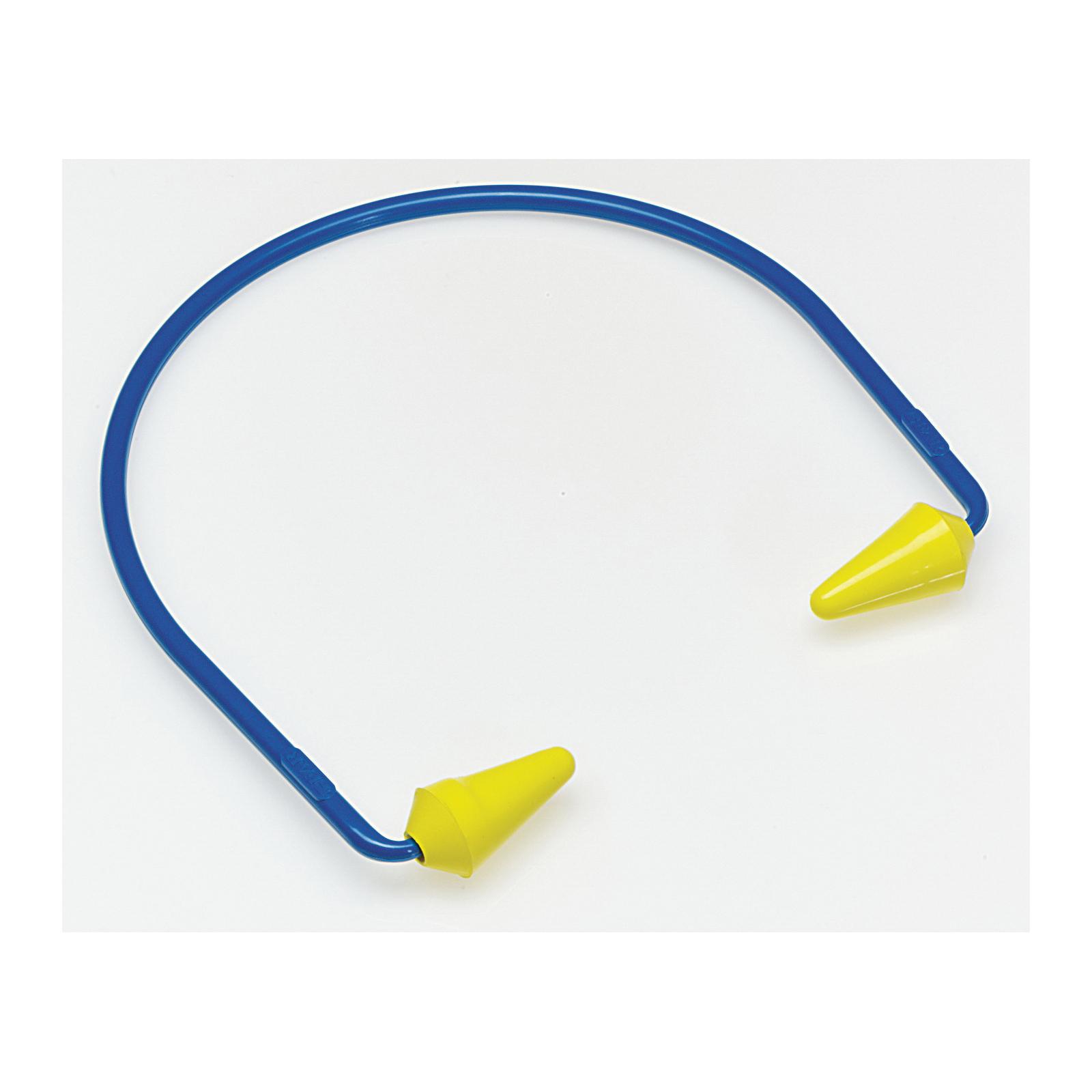 3M™ E-A-R™ Caboflex™ 080529-20000 Earplugs, 17 dB Noise Reduction, Band with Pod Shape, CSA Class AL, Reusable, Corded Design
