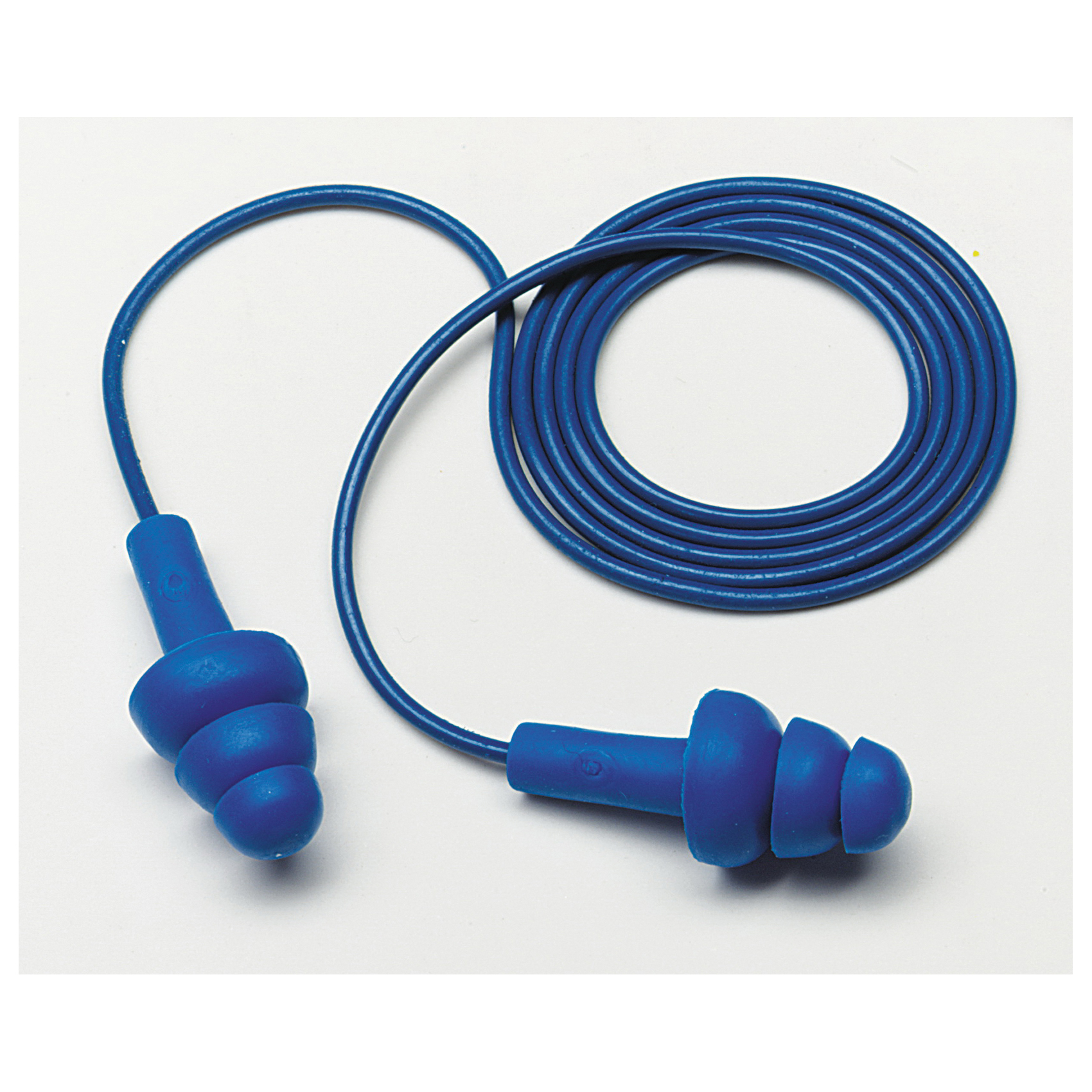 3M™ E-A-R™ UltraFit™ 080529-40004 E-A-R Metal Detectable Corded Ear Plug, 25 dB Noise Reduction, Flange, Specifications Met: ANSI S3.19-1974, CSA Certified Class AL, Reusable