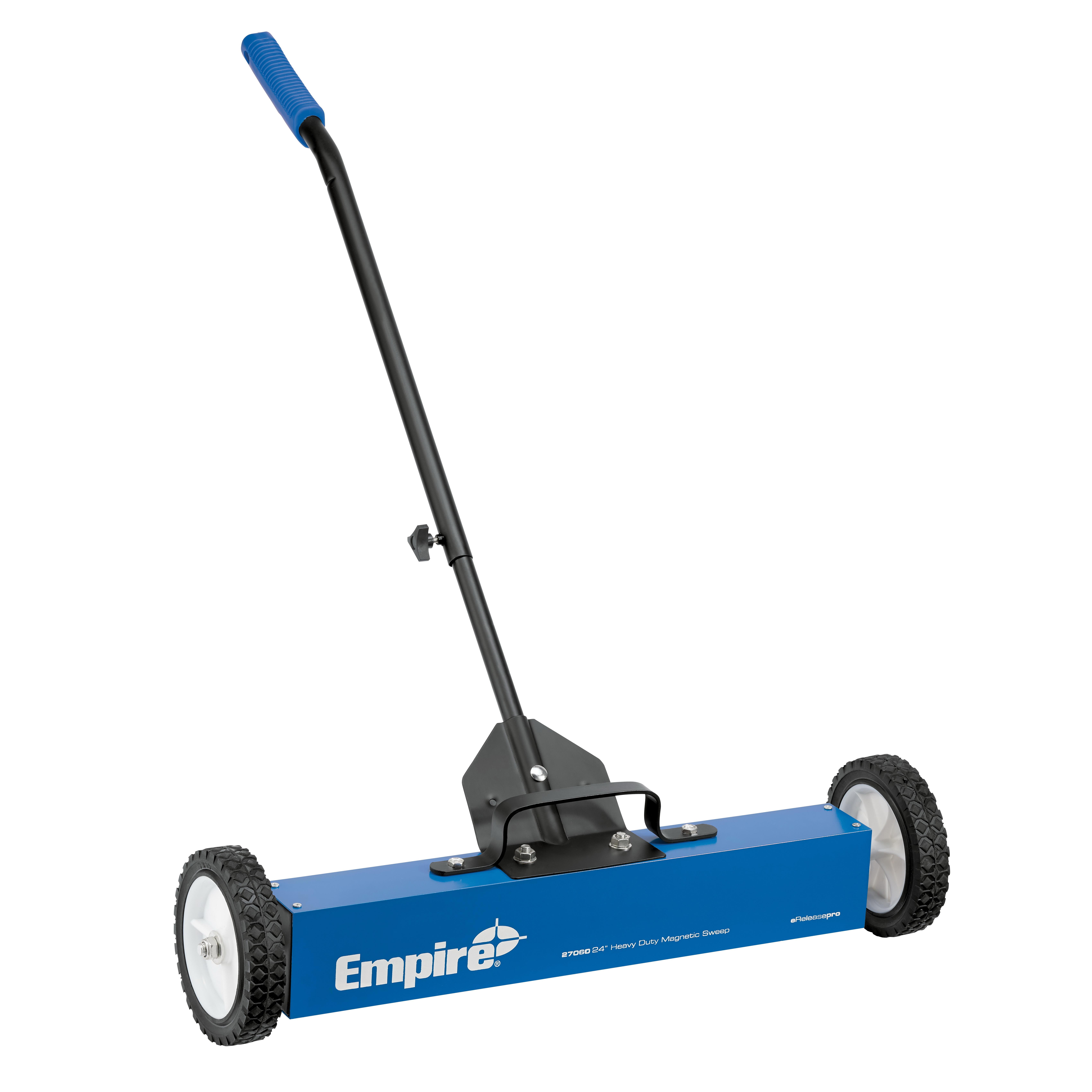 Empire® 27060 Heavy Duty Magnetic Clean Sweep, 30 lb, Heavy Gauge Aluminum Housing