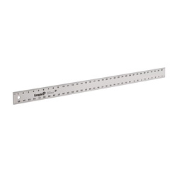 EMPIRE® 4003 1-Stage Heavy Duty Straight Edge, SAE, Graduations 8th and 16th Graduations, Aluminum