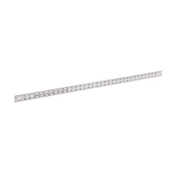 Milwaukee® Empire® 403 Heavy Duty Straight Edge Ruler, Imperial Measuring System, Graduations 1/16 in, Aluminum, Silver