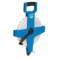Empire® 6820 Heavy Duty Measuring Tape, 200 ft L x 1/2 in W Blade, Fiberglass, Imperial, 1/8 in