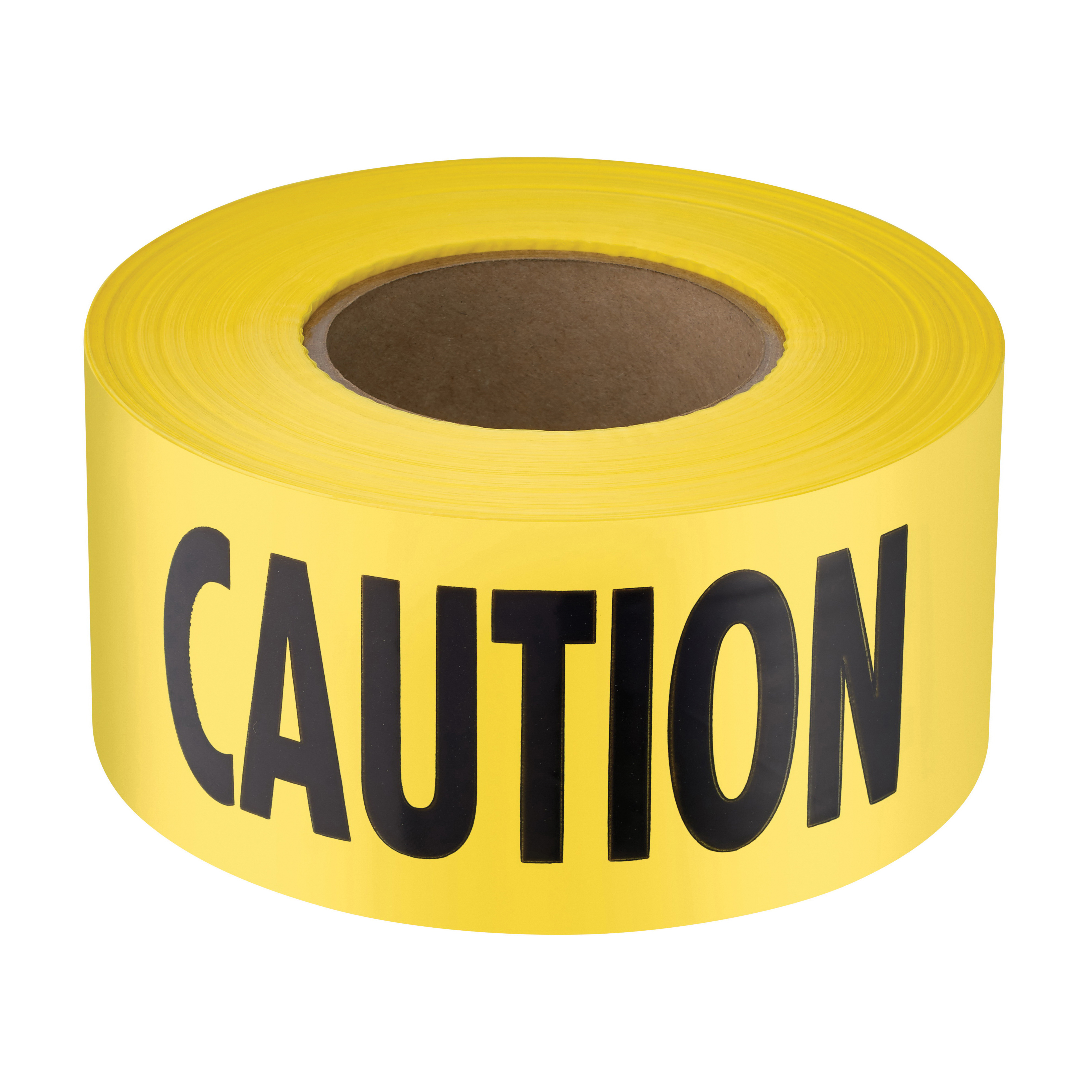 Milwaukee® Empire® 77-1006 Premium Barricade Tape, Yellow, 1000 ft L x 3 in W, Caution Do Not Enter Legend, Plastic