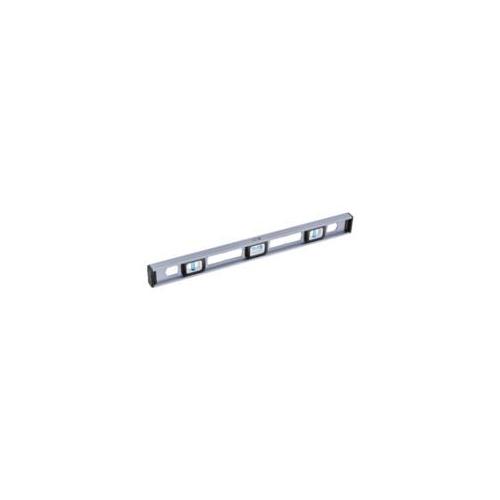 Milwaukee® Empire® TRUE BLUE® EM81.24 Heavy Duty Magnetic Professional I-Beam Level, 24 in L, 3 Vials, Aluminum, (1) 45 deg, (1) Level, (1) Plumb Vial Position, 0.0005 in